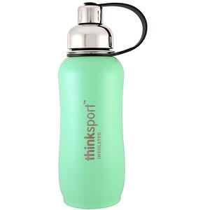 Синк, Thinksport, Insulated Sports Bottle, Mint Green, 25 oz (750 ml) отзывы покупателей