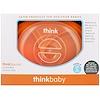 Think, Thinkbaby, Thinksaucer, Convertible Suction Plate, 6M to 99Y, Orange, 1 Convertible Suction Plate