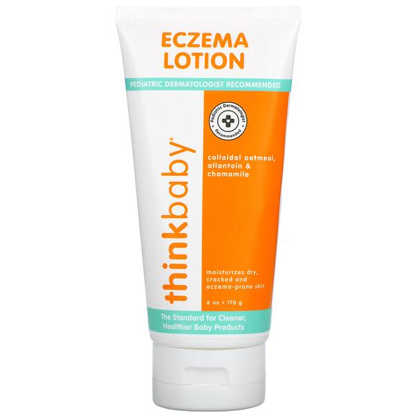 Think Baby, Eczema Lotion, 6 oz (170 g)