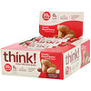 Think !, High Protein Bars, Chunky Peanut Butter, 10 Bars, 2.1 oz (60 g) Each
