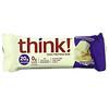 Think !, High Protein Bars, White Chocolate, 10 Bars, 2.1 oz (60 g) Each