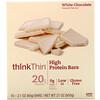 ThinkThin, High Protein Bar, White Chocolate, 10 Bars, 2.1 oz (60 g) Each