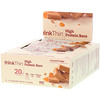 ThinkThin, High Protein Bars, Caramel Fudge, 10 Bars, 2.1 oz (60 g) Each