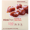 ThinkThin, Protein & Fiber Bars, Salted Caramel, 10 Bars, 1.41 oz (40 g) Each