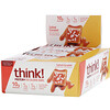 ThinkThin, Protein+ 150 Calorie Bars, Salted Caramel, 10 Bars, 1.41 oz (40 g) Each