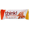 Think !, Protein+ 150 Calorie Bars, Salted Caramel, 10 Bars, 1.41 oz (40 g) Each
