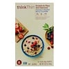 ThinkThin, Protein & Fiber Hot Oatmeal, Farmer's Market Berry Crumble, 6 Packets, 1.76 oz (50g ) Each