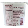 ThinkThin, Protein & Fiber Hot Oatmeal, Madagascar Vanilla, Almonds, Pecans, 1.76 oz (50 g)