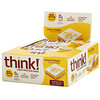 ThinkThin, High Protein Bars, Lemon Delight, 10 Bars, 2.1 oz (60 g) Each