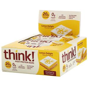 ТинкТин, High Protein Bars, Lemon Delight, 10 Bars, 2.1 oz (60 g) Each отзывы покупателей
