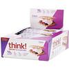 ThinkThin, ألواح البروتين والألياف، س-مور، 10 ألواح، 1.41 أونصة (40 جم) لكل لوح