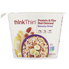 ThinkThin, Protein & Fiber Hot Oatmeal, Banana Bread, 1.76 oz (50 g)