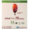 Think !, Barras altas en proteína, Chocolate y almendras con sal marina, 10 barras, 1,94 oz (55 g) c/u