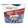ThinkThin, Protein & Probiotics Hot Oatmeal, Blueberry Harvest, 1.94 oz (55 g)