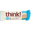 Think !, High Protein Bars, Coconut Cake, 10 Bars, 2.1 oz (60 g) Each