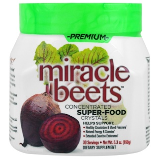 THIN CARE, Miracle Beets Concentrated Super-Food Crystals, 5.3 oz (150 g)