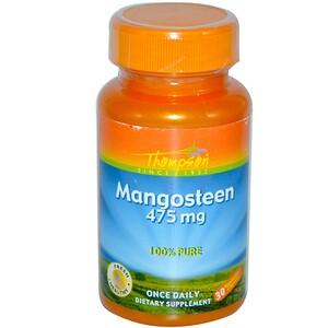 Томпсон, Mangosteen, 475 mg, 30 Vegetarian Capsules отзывы