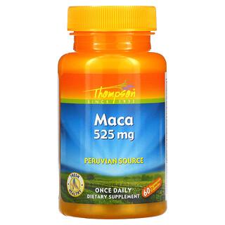 Thompson, Maca, 525 mg, 60 Vegetarian Capsules