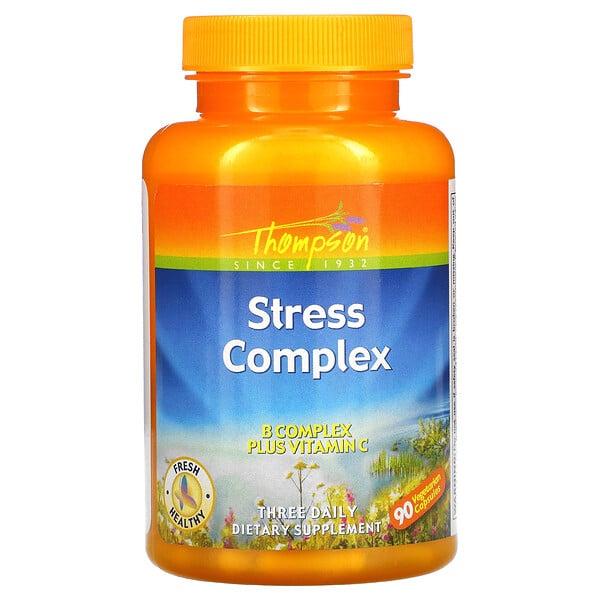 كبسولات Stress Complex، عدد 90 كبسولة