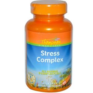 Томпсон, Stress Complex, 90 Capsules отзывы покупателей