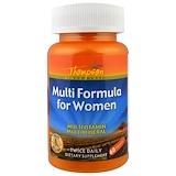 Отзывы о Thompson, Мульти-формула для женщин, 60 капсул