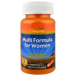 Thompson, Multi Formula for Women, 60 Capsules