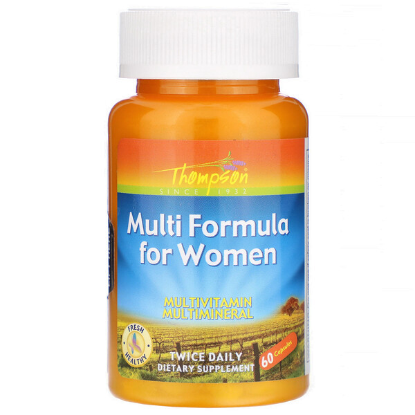 Multi Formula for Women, 60 Capsules