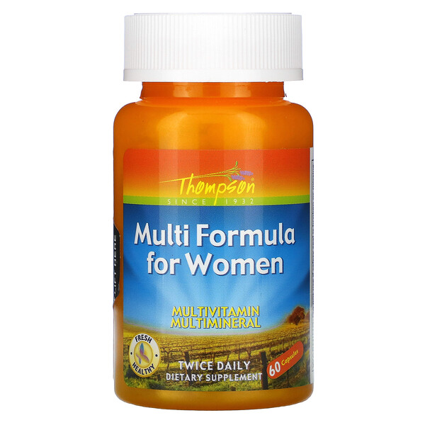 Thompson, Multi Formula for Women, 60 Capsules
