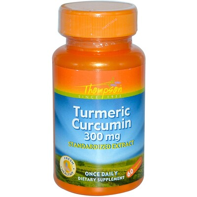 Turmeric Curcumin, кукурма, 300 мг, 60 капсул