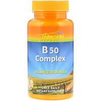 Комплекс B50, 60 капсул - фото