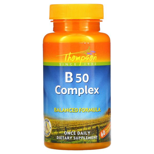 B50 Complex, 60 Vegetarian Capsules