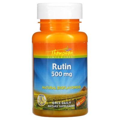 Thompson Рутин, 500 мг, 60 таблеток