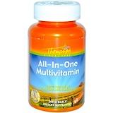Отзывы о Thompson, Все-в-одном Мультивитамин 60 овощных капсул