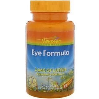 Thompson, Eye Formula, 30 Vegetarian Capsules