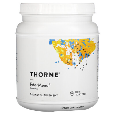 Купить Thorne Research FiberMend, 11, 6 унциЙ (330 г)