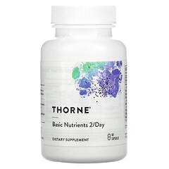 Thorne Research, 基本營養素,每天 2 粒,60 粒膠囊