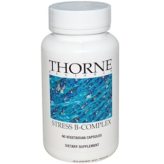 Thorne Research, Stress B-Complex, 60 Vegetarian Capsules