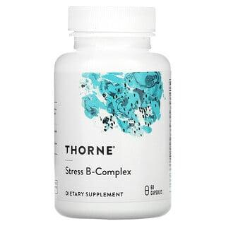 Thorne Research, Stress B-Complex, 60 capsules végétariennes