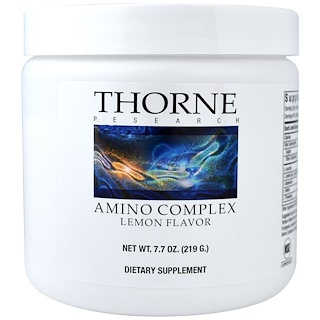 Thorne Research, Amino Complex, Lemon Flavor, 7.7 oz (219 g)