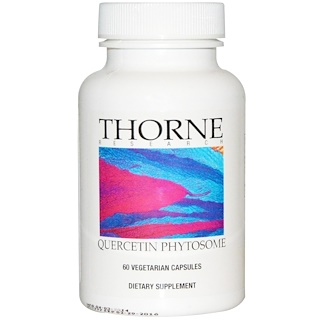 Thorne Research, Quercetin Phytosome, 60 Vegetarian Capsules