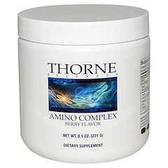 Thorne Research, Amino Complex, Berry Flavor, 8.1 oz (231 g)