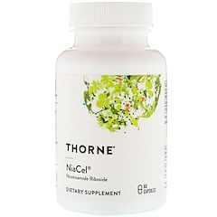 Thorne Research, Niacel, Nicotinamide Riboside, 60 Capsules
