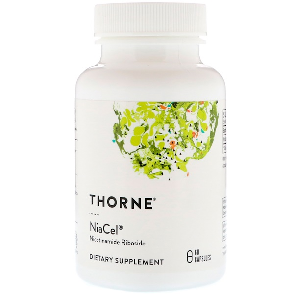 Thorne Research, Niacel,煙酰胺核糖膠囊,60 粒膠囊 (Discontinued Item)