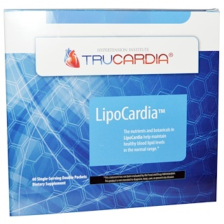 Thorne Research, LipoCardia, 60 Single Serving Double Packets
