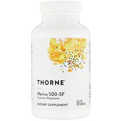 Thorne Research, Meriva 500-SF,120 粒膠囊