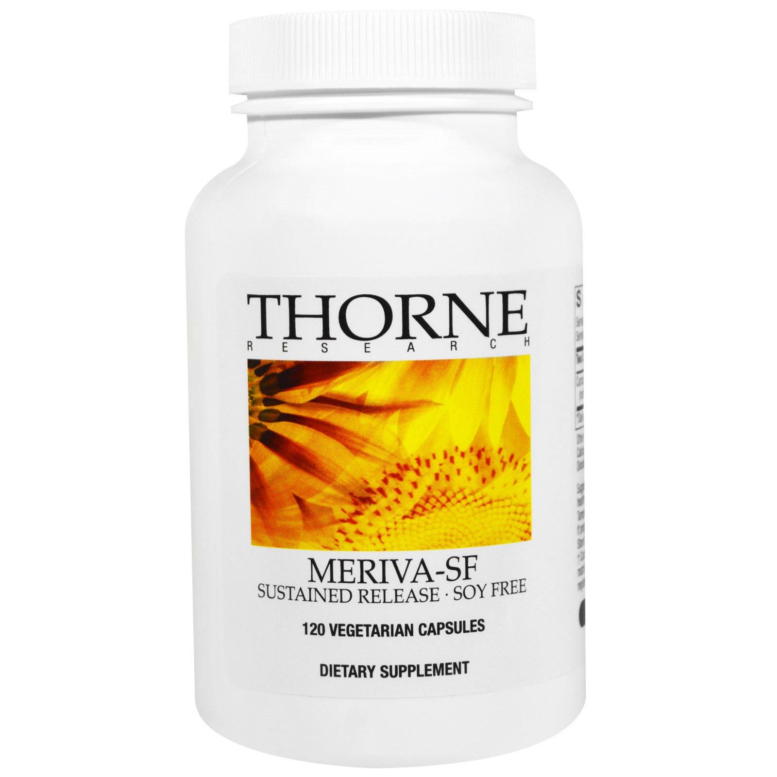 Thorne Research, Meriva-SF, 120 веганских капсул