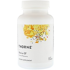 Thorne Research, Meriva-SF, Curcumin Phytosome, 120 Capsules