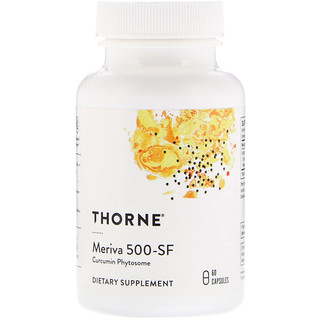 Thorne Research, Meriva 500-SF, 60 Capsules