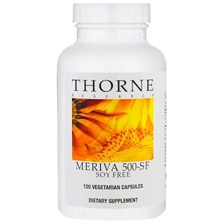 Thorne Research, Meriva 500-SF , NSF Certified for Sport, 120 Vegetarian Capsules