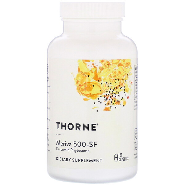 Thorne Research, Meriva 500-SF, 120 Capsules